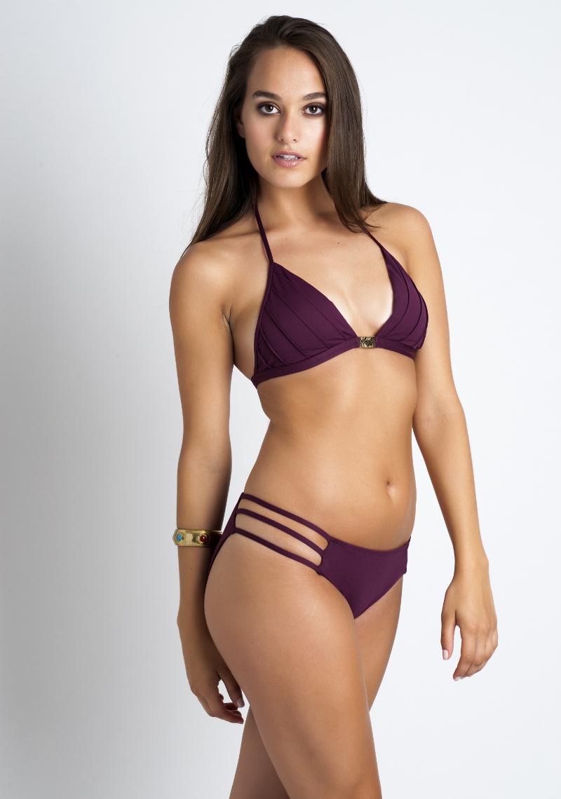 Sirolo Pin Stripe Triangle Bikini
